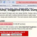 BigDump Alternative – When BigDump Failed Importing Large WP Database