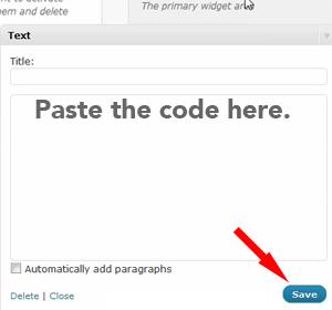How To Add Adsense To Wordpress Sidebar