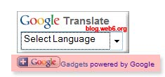 google translate wordpress