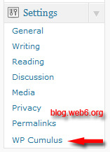 rotating tag cloud wordpress.