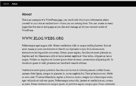 wordpress as static website