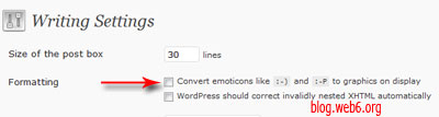 wordpress smilies