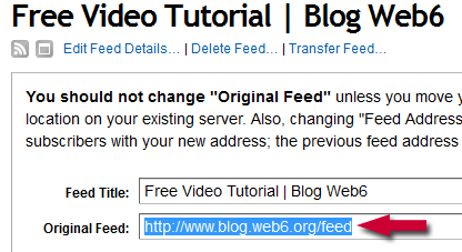 wordpress feed notu pdating