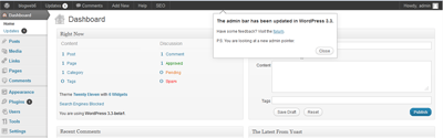download wordpress 3.3