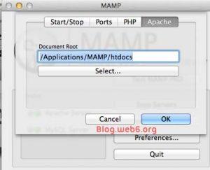 Apache MAMP