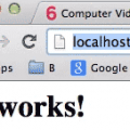 Localhost it works