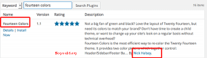 Fourteen colors plugin