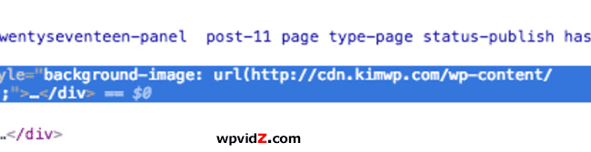 The new URL using custom domain